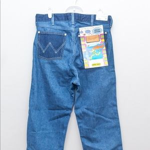 Wrangler x Peter max straight cut jeans